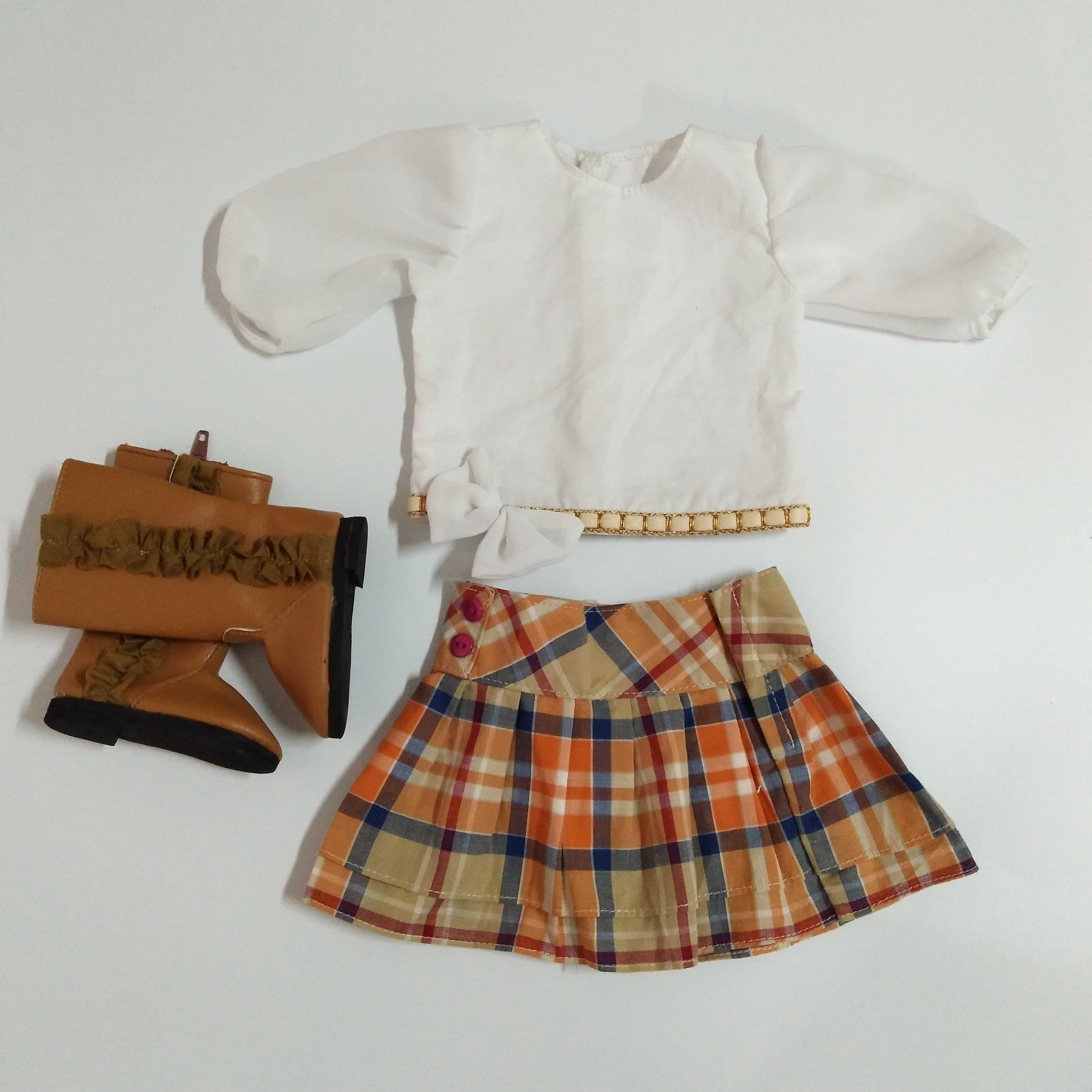 3 pieces doll clothes