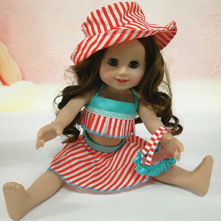 doll  girl clothes for 18 inch vinyl doll accessories