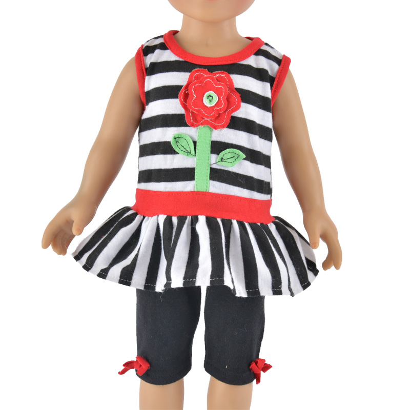plaid sleeveless vest for 18 inch vinyl doll clothes