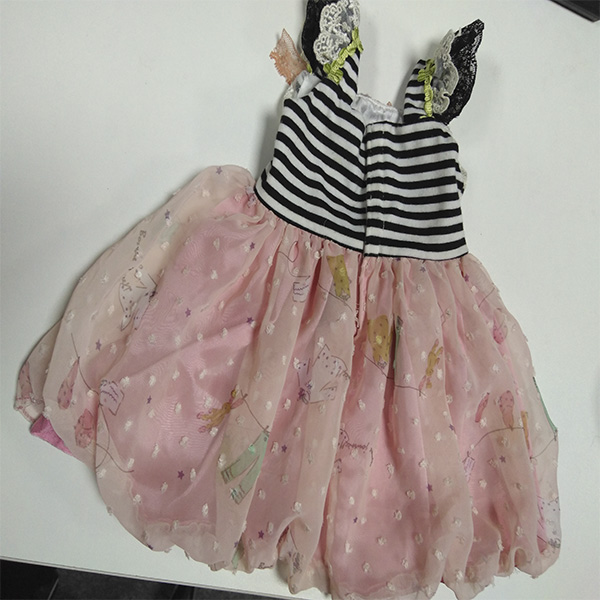lace dress doll clothes for 18 inch girl doll