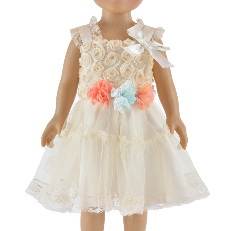 18-inch American girl doll lace dress clothes